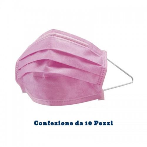 19006-mascherina-viso-rosa-triplo-strato-monouso-youbarber