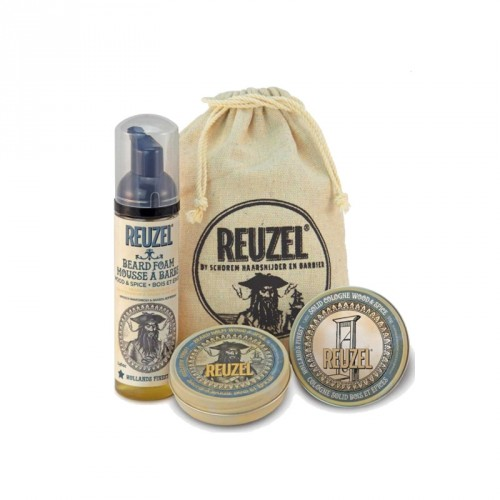 Reuzel - Set Groom & Grow Wood & Spice