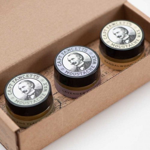 Capt Fawcett - Gift Set - Moustache Wax
