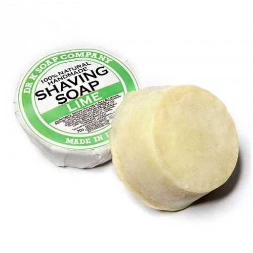 Dr K Soap - Lime Shaving Soap