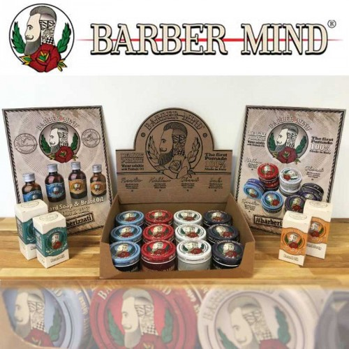 Barber Mind - Retail Box - 16 Products + Display