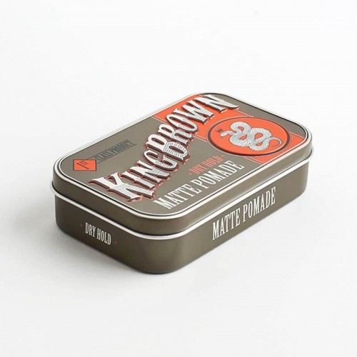 king-brown-matte-pomade-cera-capelli-opaca-tenuta-media