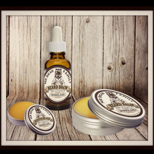 Mr Bear Family - Kit Balm + Oil + Wax