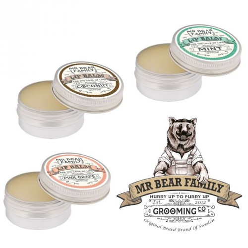 Mr Bear Family - Lip Balm