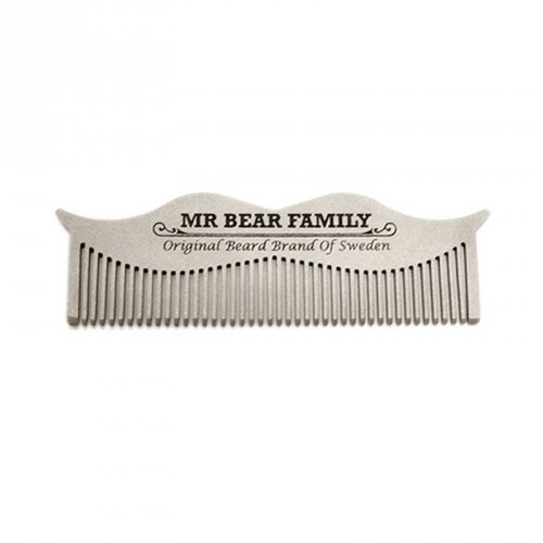 Mr Bear Family - Moustache Steel Comb