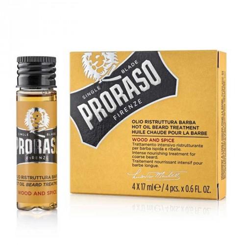 Proraso - Beard HOT Oil - Wood & Spice