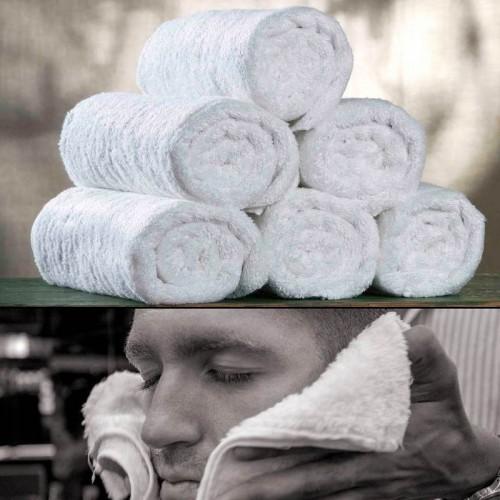 Barber Towels -  12 Salviette da Barbiere (60x20)