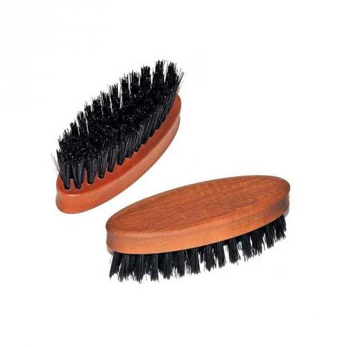 Beard Travel Brush - in legno di Pero Setole Cinghiale