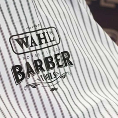 Wahl - Stripe Barber Cutting Cape