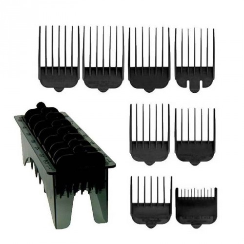 Wahl - Set 8 Rialzi Neri per Icon / Super Taper / Legend / Magic Clip
