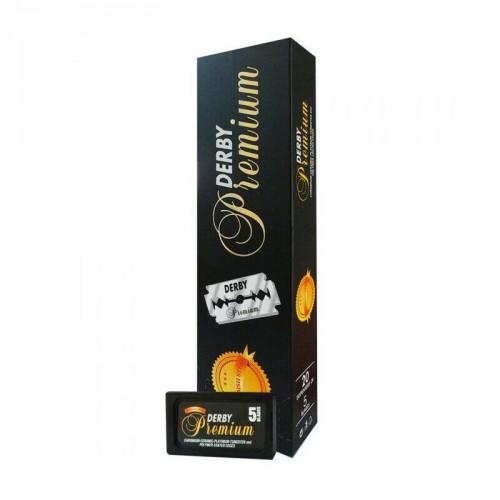 BOX-LAMETTE-DA-BARBA-DERBY-PREMIUM-BLACK-SWEDISH-STEEL-–-100-LAMETTE-DA-BARBA