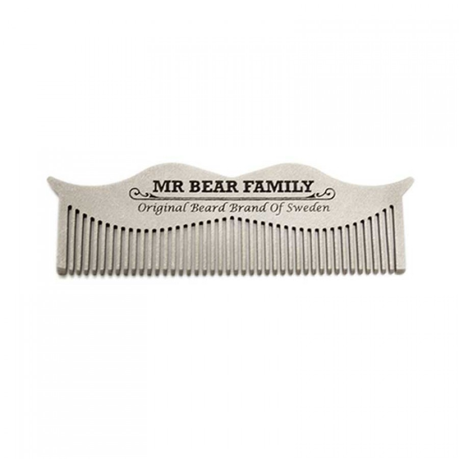 Mr Bear Family - Pettine Baffi Acciaio INOX
