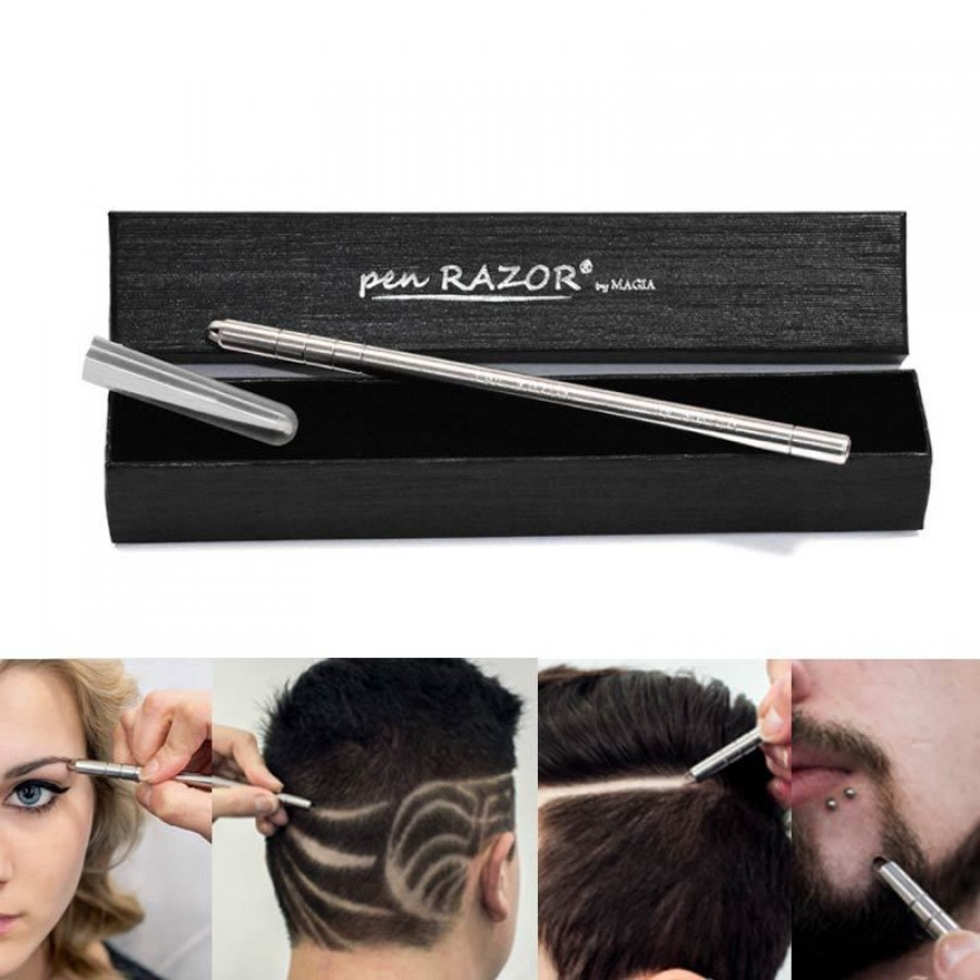 Pen razor by magia rasoio per hair tattoo for Razor pen for hair tattoo
