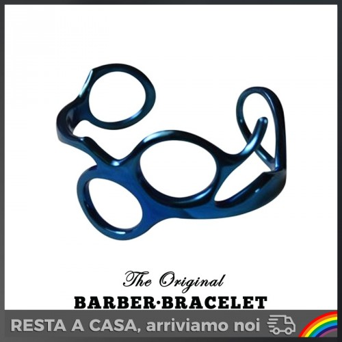The Original Barber Bracelet - Bracciale da Barbiere Blue