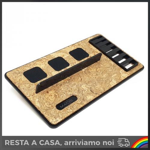 Macs - Barber Cork per 3 Tagliacapelli con Porta Rialzi
