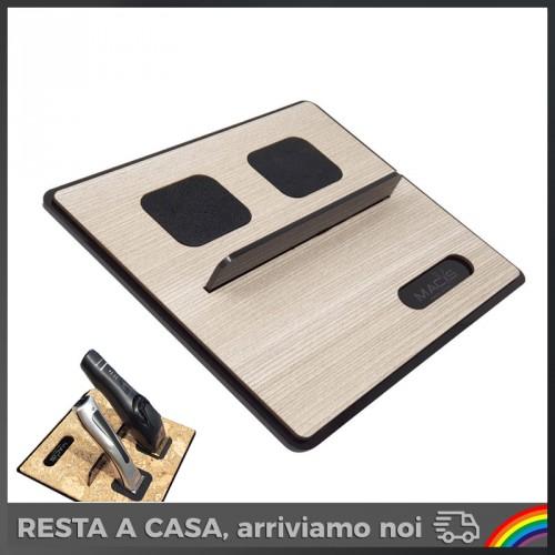 Macs - Barber Olmo/Nero per 2 Tagliacapelli