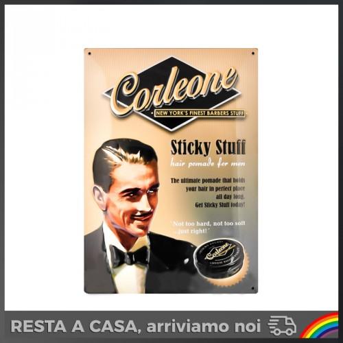 Corleone Barbers Stuff - Metal Plate