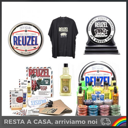 Reuzel - Sign Up for Reuzel (37 Prodotti + Insegna Sign Up + Mantella)