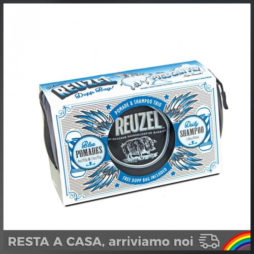 Reuzel - Set Pigs Blue Dopp Bag