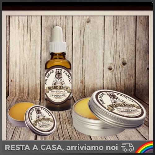 Mr Bear Family - Kit Balsamo + Olio + Wax