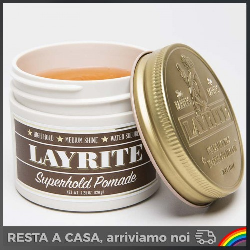 Layrite - Super Hold Hair Pomade