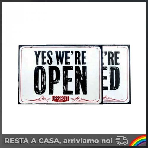 uppercut-deluxe-targa-open-closed-aperto-chiuso-cartello-barber