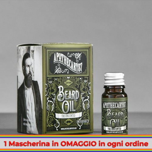 Apothecary 87 - The Unscented Beard Oil 10ml