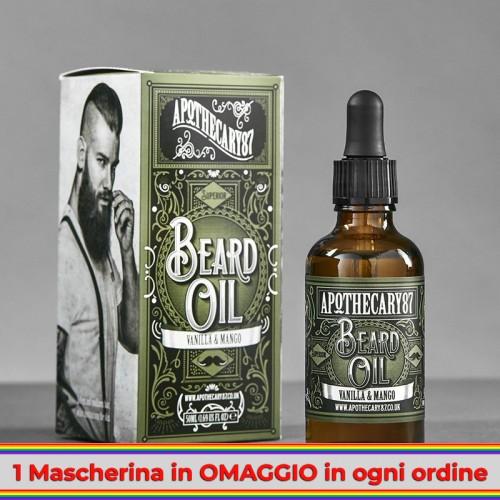 Apothecary 87 - Vanilla & Mango Beard Oil 50ml