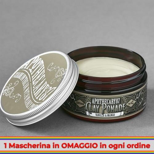 Apothecary 87 - Vanilla & Mango Clay Pomade 100ml