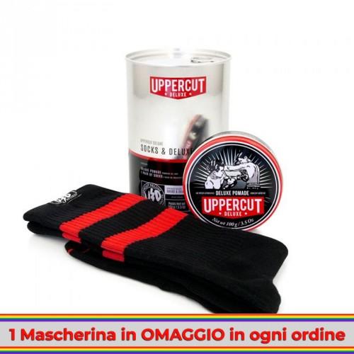 Uppercut Deluxe - Socks Kit (Calze + Deluxe Pomade)