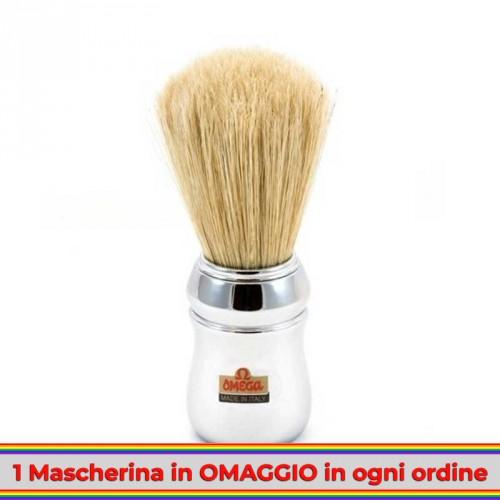 Omega - Pennello da Barba in Setola 48