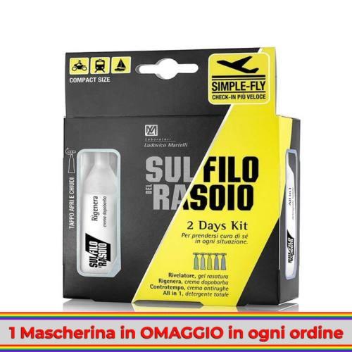 sul-filo-del-rasoio-2-days-kit
