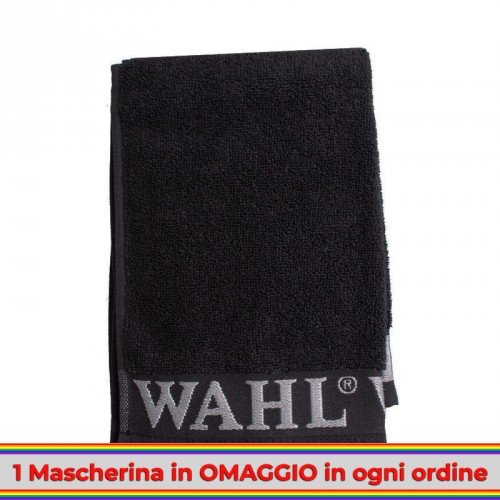 wahl-asciugamano-salvietta-barbiere-parrucchiere-nero