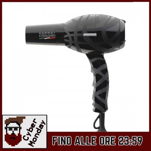 Gamma Più - Asciugacapelli Italiano Black