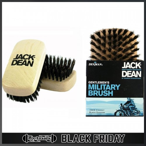 Jack Dean by Denman - Spazzola Military Brush