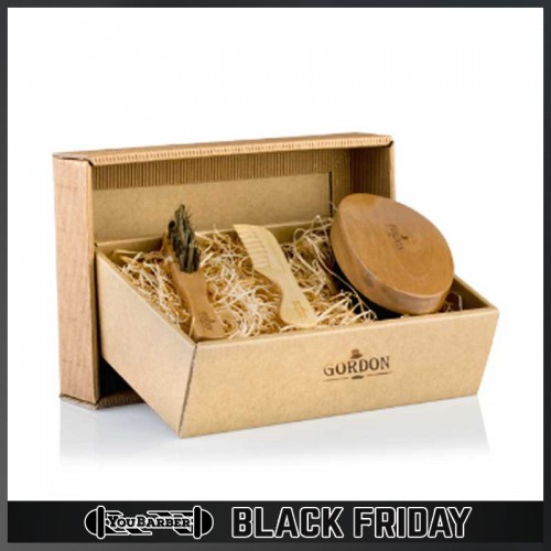 Gordon - Beard Kit Spazzole + Pettine