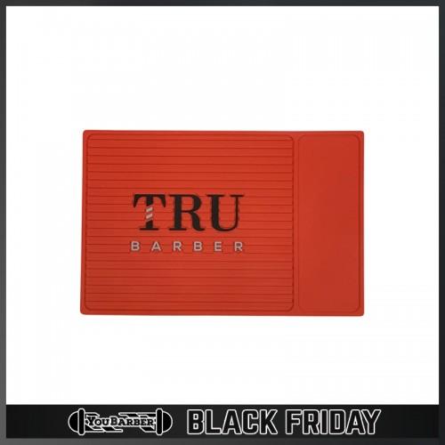TruBarber - Tappetino Barber Mat Organizer Red SMALL