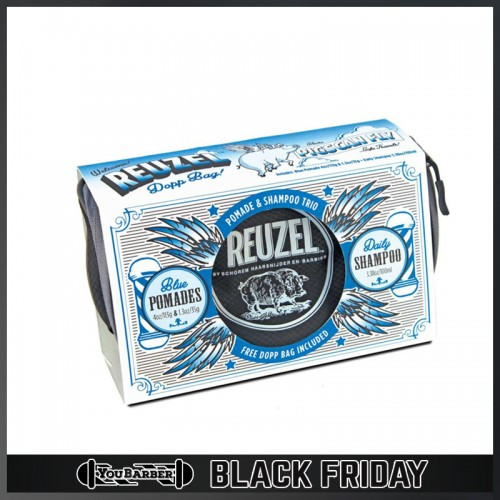 Reuzel - Set Pigs Blue Dopp Bag
