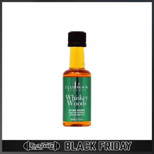 Clubman Pinaud - Whiskey Woods After Shave Travel Size