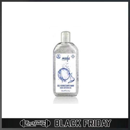 Maxja - Gel Igienizzante per Mani 100ml (70% di Alcool) - ESENTE IVA