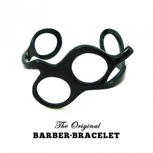 The Original Barber Bracelet - Bracciale da Barbiere Black
