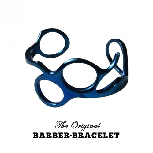 The Original Barber Bracelet - Bracciale da Barbiere Blue