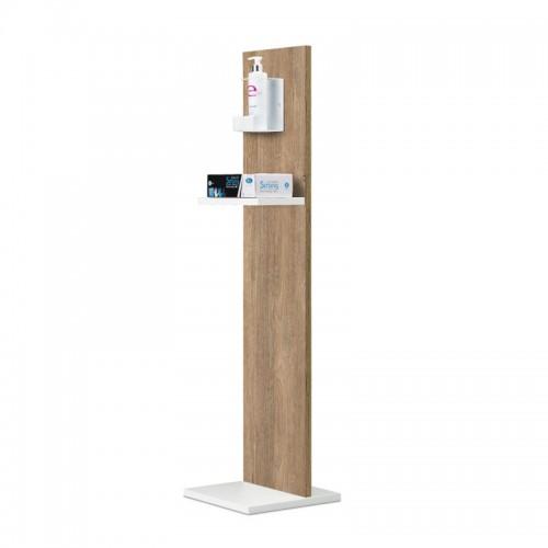 Piantana Colonnina per Gel Igienizzante - Wood Bicolor - ESENTE IVA