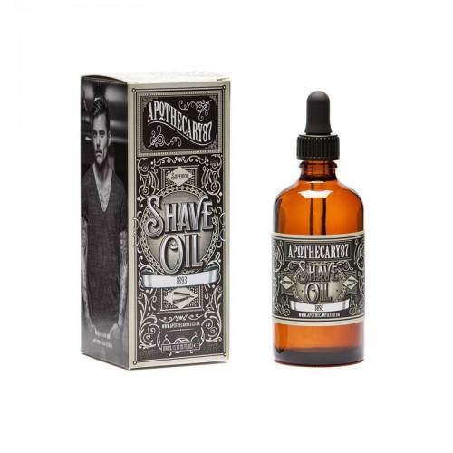 Apothecary87 - 1893 Shave Oil da Rasatura 100ml