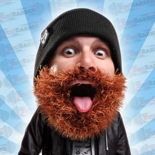 Beard Head - Bushy Biker - Berretto con Barba