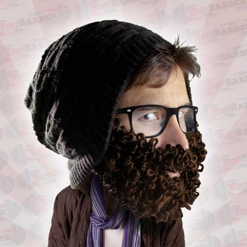 Beard Head - Curly Atticus - Berretto con Barba