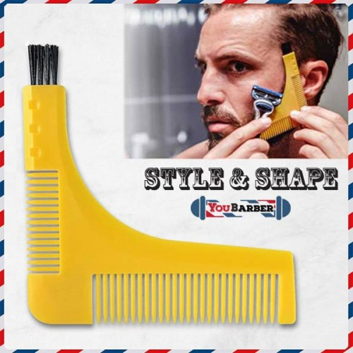 Pettine Sagoma da Barba Style & Shape by YouBarber
