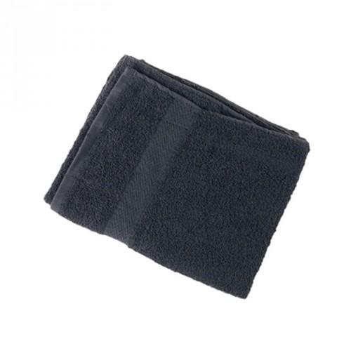 Asciugamano Nero in Cotone 50x90cm