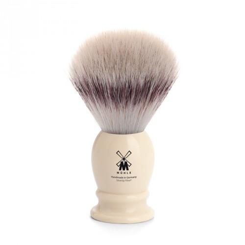 Muhle - Pennello da Barba in Fibra Sintetica Avorio