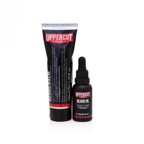 Uppercut Deluxe - Beard Duo (Olio + Balsamo Barba)